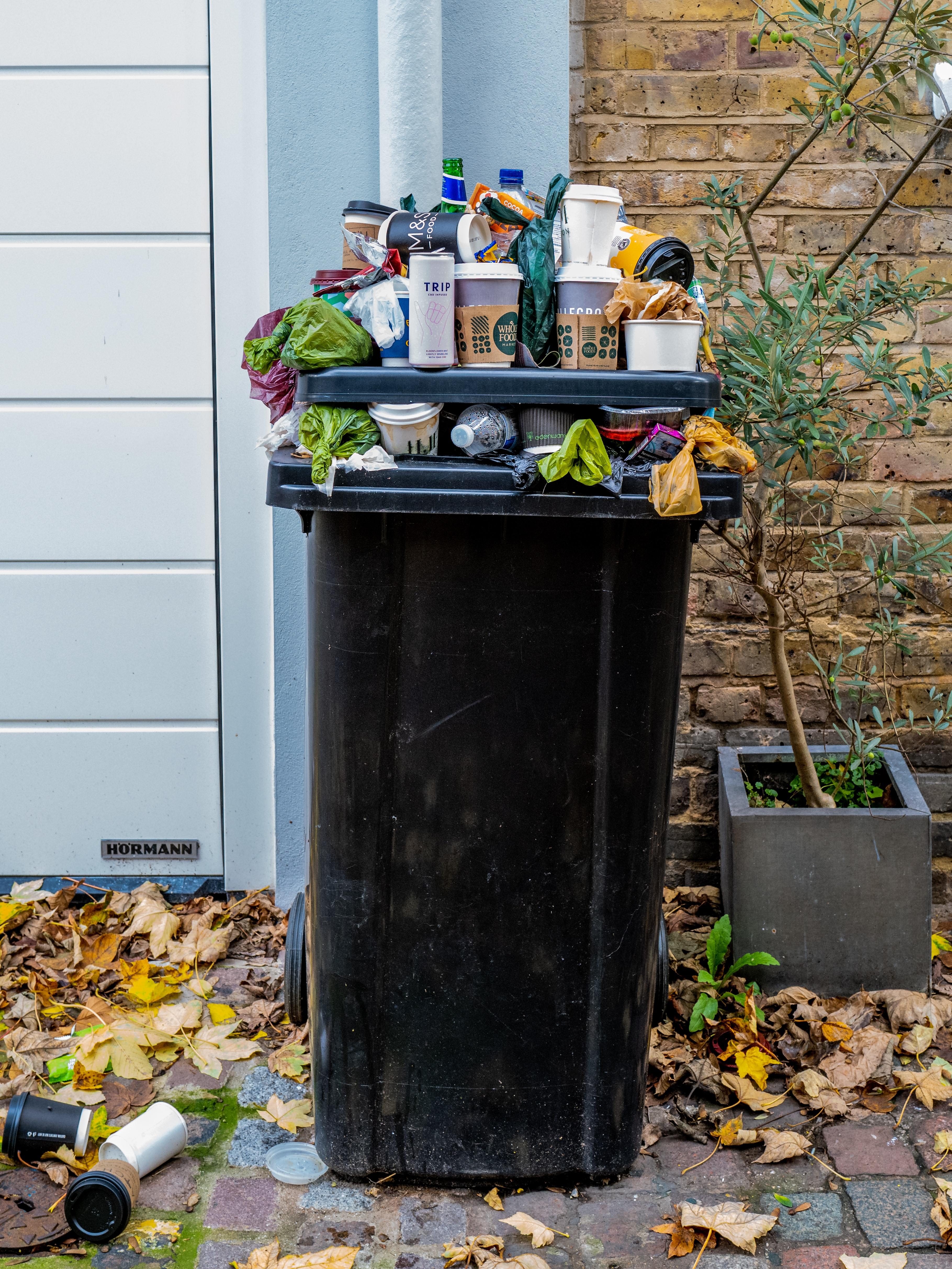 Tavajäätmete kogumine Tallinnas