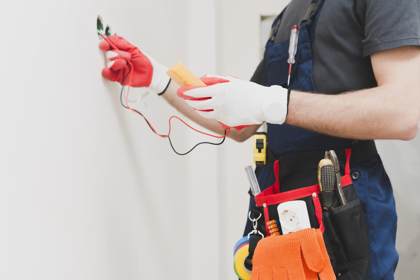 Electrical installation in Lääne county
