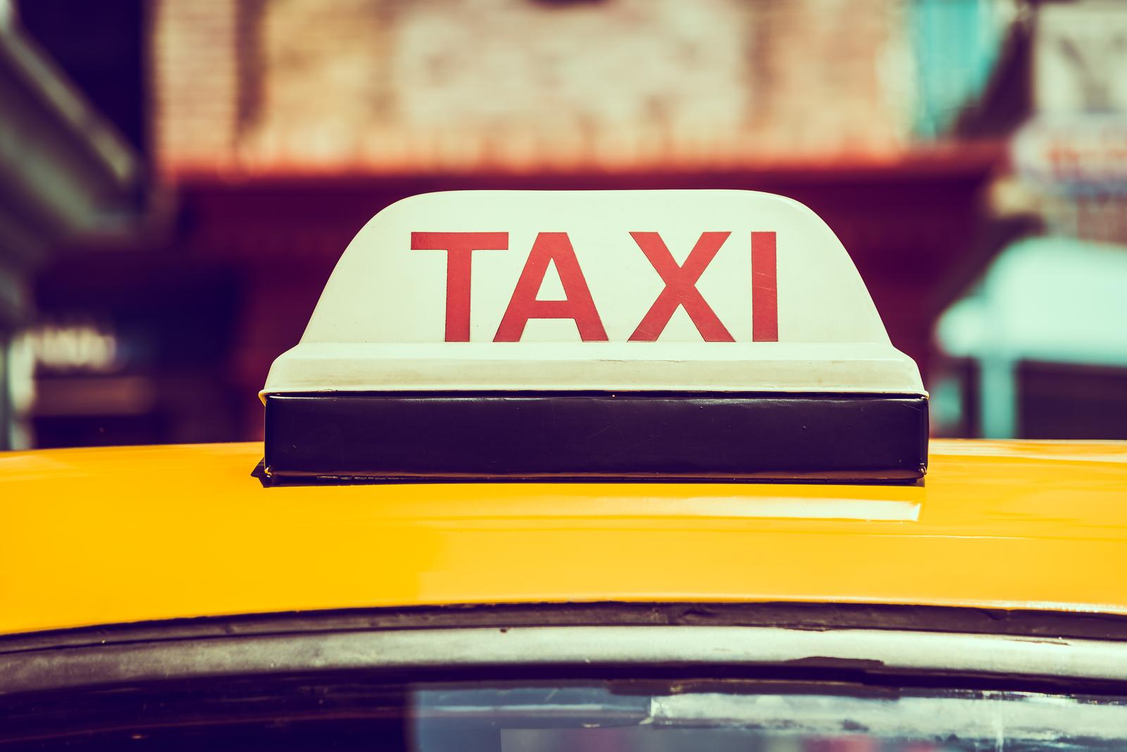Taxi operation in Tallinn