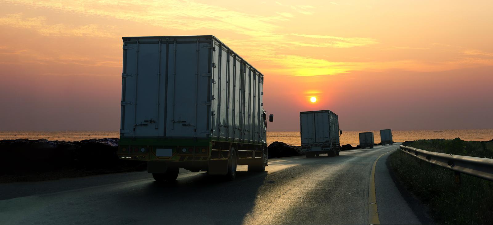 Kaubavedu maanteel Tallinnas