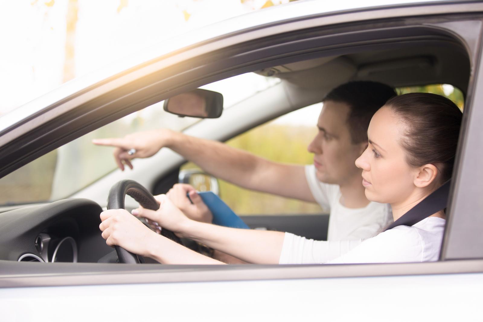Driving school activities in Tartu